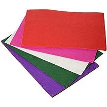 Artes Infinitas 84008 - Pack de 10 fieltro, multicolor, 20x30cm