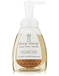 Deep Steep Foaming Hand Wash, Brown Sugar Vanilla 237 ml