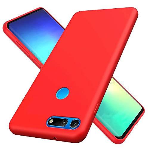 MUTOUREN Compatibile con Huawei Honor View 20 V20 Custodia Liquido Silicone Ultra Sottile Cover Case...