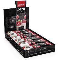 Prozis Zero Snack - Barra rico en proteína y Bajo en Hidratos de Carbono y Azúcares, 12x35g, Chocolate Blanco.