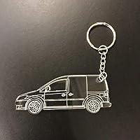 VW Volkswagen caddy laser cut Acrylic Keyring - keychain