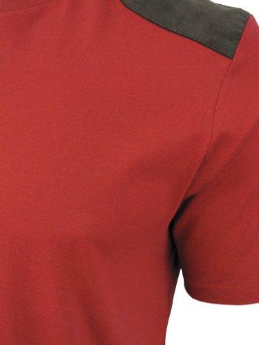 Brave Soul -  T-shirt - Maniche corte  - Uomo Rosso
