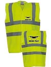 Drone Pilot Signalfarben Westen Sicherheit Westen Weste 52//54 2XL