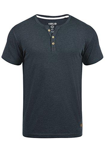 Solid Volker Men's T-Shirt, Size:L, Colour:INS BLU M (P8991)