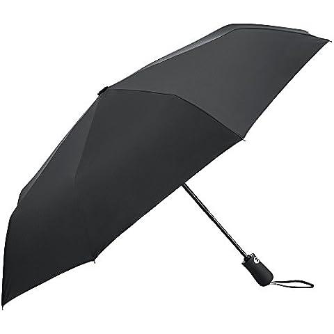 PLEMO Paraguas Parasol Anti UV Paraguas de Viaje Plegable Automático (38