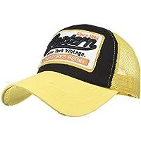 Delicacydex Primavera Verano Color sólido Deportes al Aire Libre Gorra de  béisbol Sombrero de Malla Bordado a3fbec5ecd7