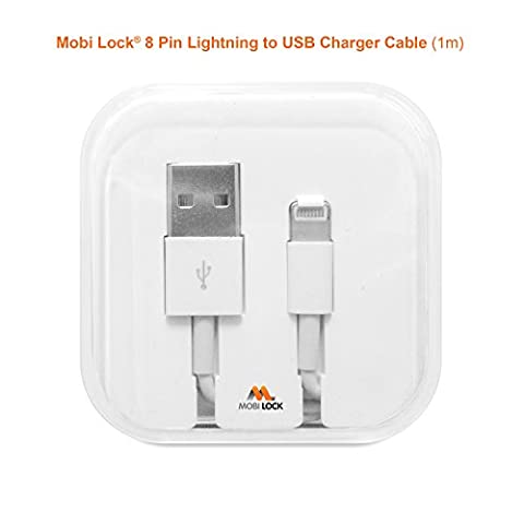 Mobi Lock 8 broches Lightning a cable USB pour Apple iPhone SE / 6S / (1 Gen Ipod Touch)