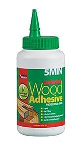 Everbuild 5MINPU7 Lumberjack Colle à bois liquide Séchage en 5min Polyuréthane 750g