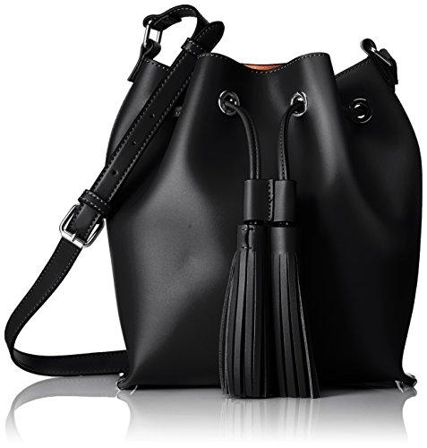 ALDO Damen Roundlake Rucksackhandtasche, Schwarz (Black), 12 x 27 x 32 cm