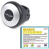 I-Pop Mini mango de potencia volante de coche pomo de mango Spinner Slim pomo/diseño moderno y compacto/Manejo Cómodo