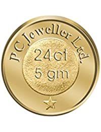 PC Jeweller 5 gm, 24KT (995) Yellow Gold Coin