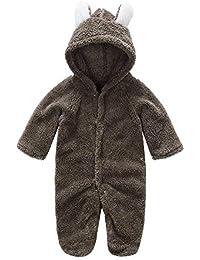 Amazon.es  Marrón - Chaquetas y abrigos   Ropa de abrigo  Ropa 8a6db0ec990