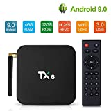 Best Android Smart Tv Boxes - Android 9.0 TV Box TX6 4GB RAM WiFi Review