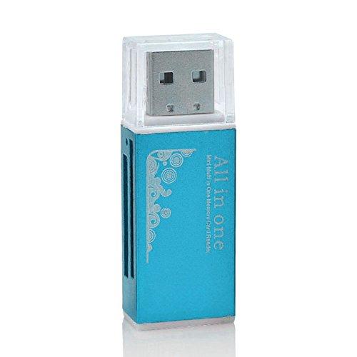 Lector tarjetas memoria lápiz USB 2.0 todo uno. Flash