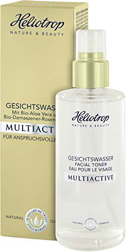 HELIOTROP Naturkosmetik MULTIACTIVE Gesichtswasser, Befreit gründlich von Make-up &...