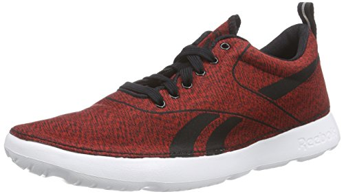 Reebok Royal Simple 2, Chaussures de course homme Rouge - Rot (Jacquard-Red/Black/White)