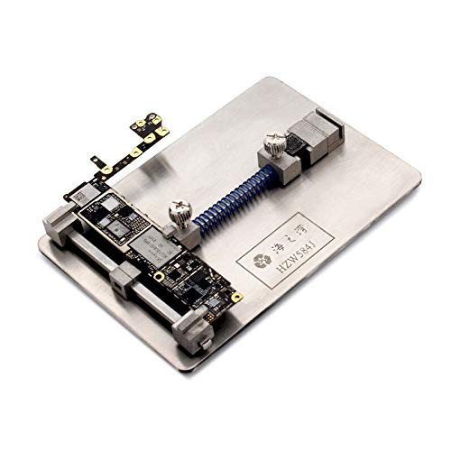 ChaRLes Logic Board Motherboard Nand Chip Clamps Pcb Fixture Holder High Temperature Für Iphone Fix Repair Mold Tool (Logic Board Motherboard)