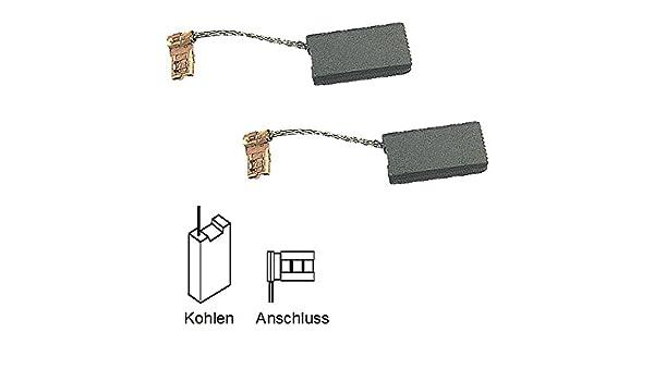 AKE 40B Kohlebürsten Motorkohlen Kohlen für Bosch Kettensäge AKE 30B AKE 35B