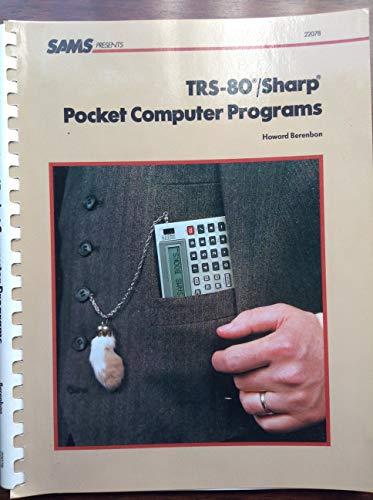 TRS-80/Sharp Pocket Computer Programmes - Sharp Pocket Computer
