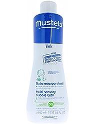 Mustela Bébé Mousse Éveil pour Bain Flacon de 750 ml