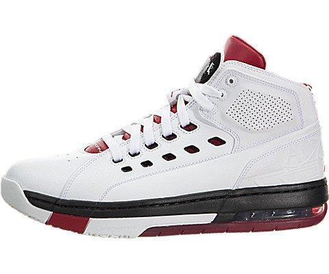 Nike Ol'school Blanc / Rouge gymnase / salle de sport rouge / noir Basket Shoe 12 nous