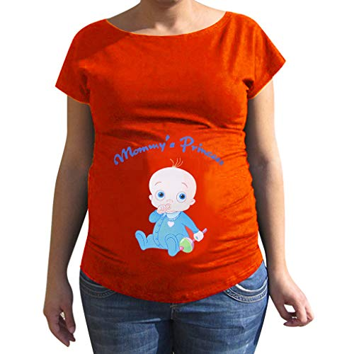 7b562901e Maternity Baby Funny Pregnancy Tees for Pregnant Announcement Funny T Shirt  maternità Tshirt Adorable Mommy Stampa
