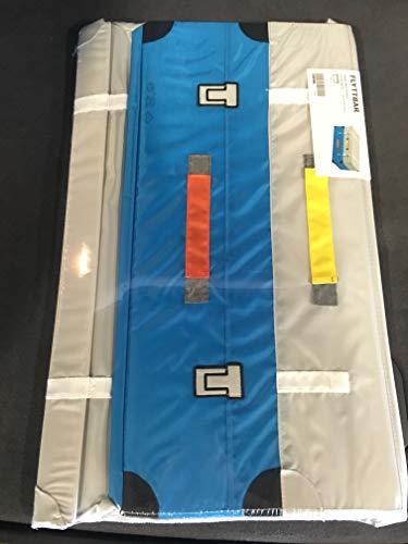 Ikea Amazing FLYTTBAR - Baúl para Juguetes, Color Turquesa