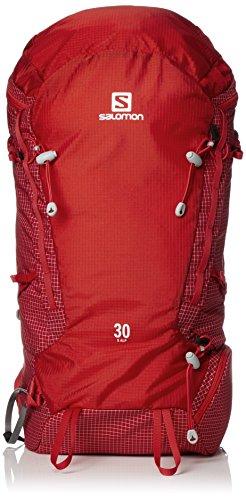 Salomon Unisex-Erwachsene X Alp 30 Rucksack, Rot (Fr Rd/Brbds Chrr), 24x36x45 centimeters