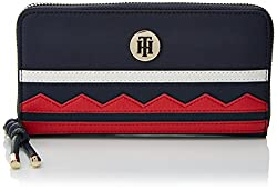 Tommy Hilfiger Damen Tommy City Za Wallet Geldbörse, Blau (Corporate Cb), 2x10x19 Cm
