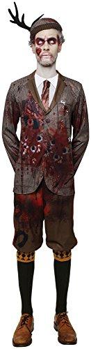 Rubie's Halloweenkostüm Lord Gravestone, Zombie, Kostüm für Erwachsene, Größe XL