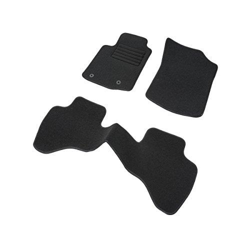 DBS 1765235 Tapis Auto – Sur Mesure – Tapis de sol pour Voiture – 3 Pièces – Antidérapant – Moquette noir 900g/m² – Finition Velours – Gamme Star Magasin en ligne