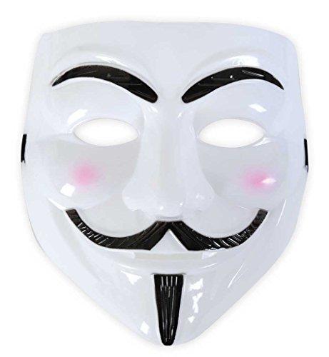 Maske für Erwachsene Einheitsgröße Kunststoffmaske für Erwachsene