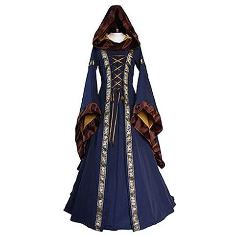 Kostüm als Dame der Renaissance für Erwachsene Hood Damen Kostüm Kleid