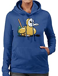 Cloud City 7 Mighty Ducks Cute Rubber Duck Goalie Women s Hooded Sweatshirt f774adb18fd