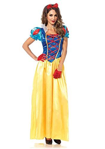 LEG AVENUE 85407 - Klassische Schneewittchen Damen kostüm, Größe Small (EUR - Sexy Disney Prinzessin Kostüm Für Erwachsene
