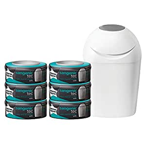 Tommee Tippee - Pack poubelle à couches + 6 recharges