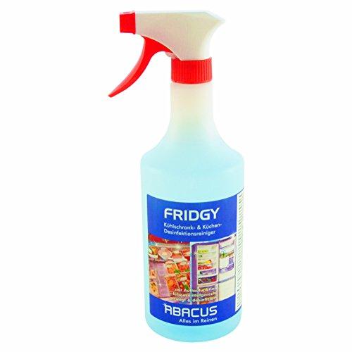 FRIDGY 750 ml (4043) --- Desinfektionsreiniger Kühlschrank Küche Kühlbox Gefrierschrank Klimageräte Mikrowelle Küchenschränke Mülleimer Kühltheken Verkaufstheken Theken Reiniger Desinfektion -- ABACUS