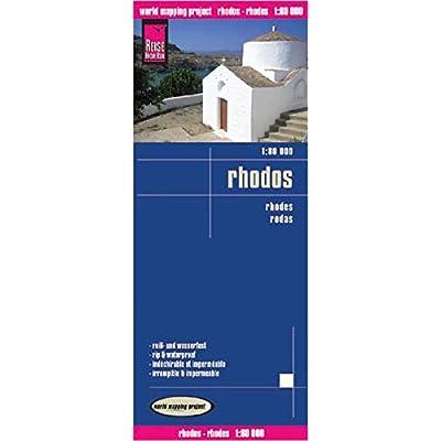 Rhodes : 1/80 000