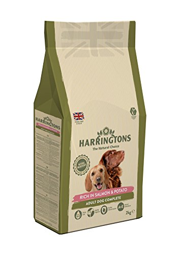 Harringtons Complete Rich In Salmon And Potato Dog Food 2 Kg Pack Of 4