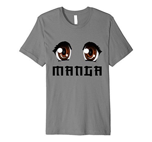 Manga Anime T-Shirt Graphic Novel Tee Japan Comic Japanese