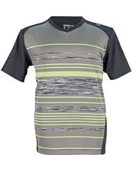 Wilson T-Shirt B Su Specialist Stripe V Neck - Camiseta de tenis
