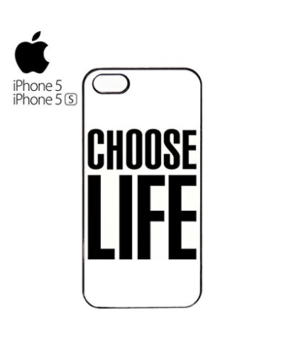 Choose Life Geek Mobile Cell Phone Case Cover iPhone 5c Black Blanc