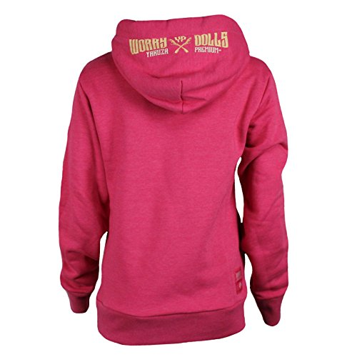 Yakuza Premium Damen Sweatshirt 2344 pink Pink