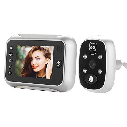 YouN 3.5 inch 720P HD 2MP Video Door Bell Camera Night Vision PIR Door Ring Cam Night Vision Cam