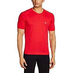 Jockey Men's Cotton T-Shirt (8901326116241_SP25_X-Large_Team Red)