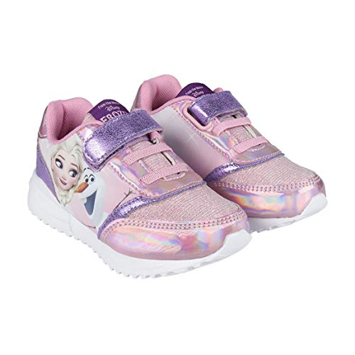Cerdá ligera frozen, scarpe da ginnastica basse bambina, (rosa c07), 24 eu