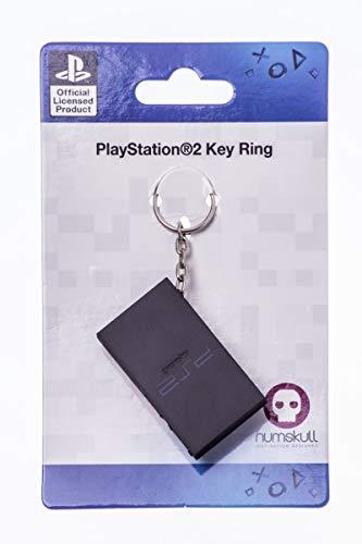 Numskull Playstation 2 Schlüsselanhänger - Playstation lizensierter Schlüsselanhänger im original PS2 Design