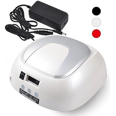 SymbolLife Lámpara LED de uñas , Clavo de 48W profesional Luz UV + CCFL secador de uñas la definición 5s/20s/30s