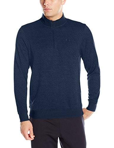 Armour Under Golf-pullover (Under Armour 2016 ColdGear Storm 1/4 Zip Sweater Mens Golf Fleece Pullover Academy XL)