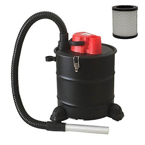 Aspirador de cenizas con ruedas de la marca Grafner, 20litros, 1200W, con filtro HEPA y...